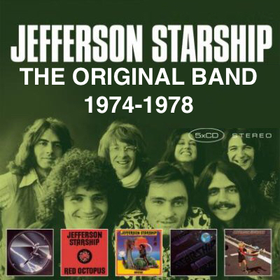 Jefferson Starship ORIGINAL CDS