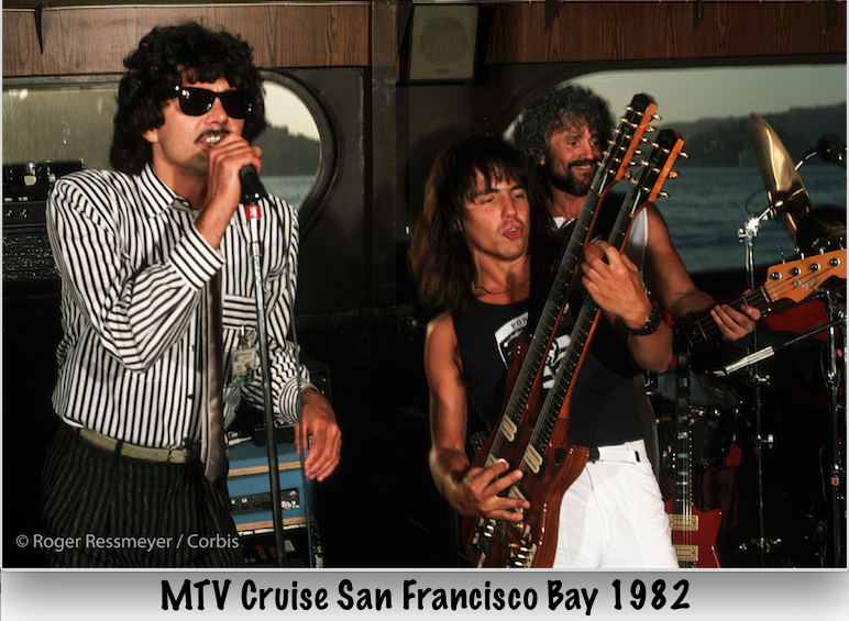 MTV cruise SF 1982