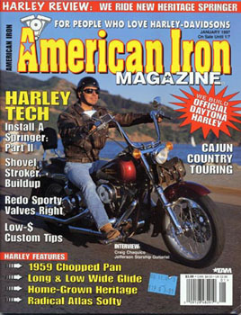 American Iron cover '97