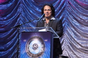 Craig Chaquico Presents Bill Graham Award at Pollstar Music Awards