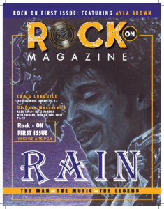 Craig Chaquico - Rock On Magazine Cover