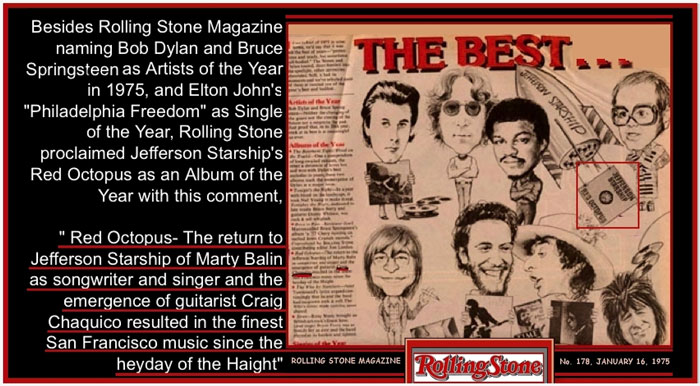 Craig Chaquico- Rolling Stone- Best of 1975