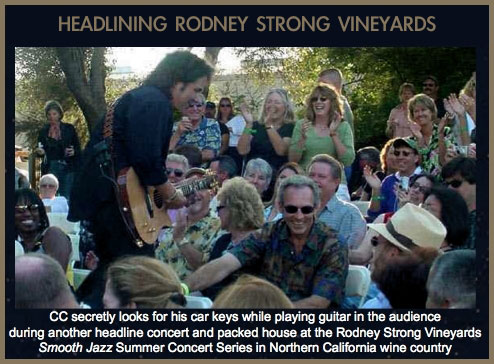 Craig Chaquico at Rodney Strong Vineyards