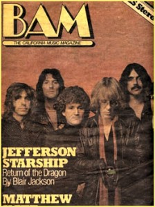 Jefferson Starship BAM 70s
