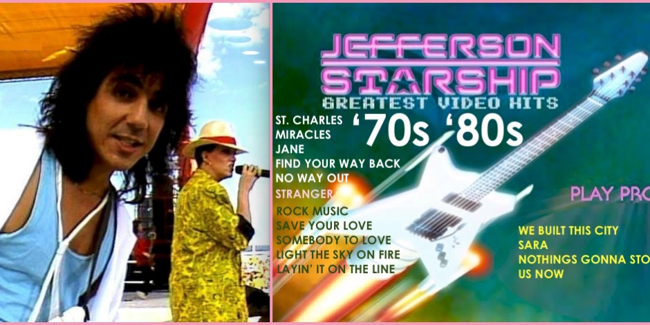 12-Jefferson Starship Greates Hits Video '70s '80s