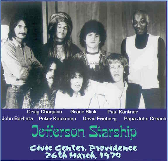 Orignal Jefferson Starship 1974