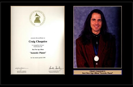 Craig Chaquico Grammy nomination for Best New Age Album - Acoustic Planet