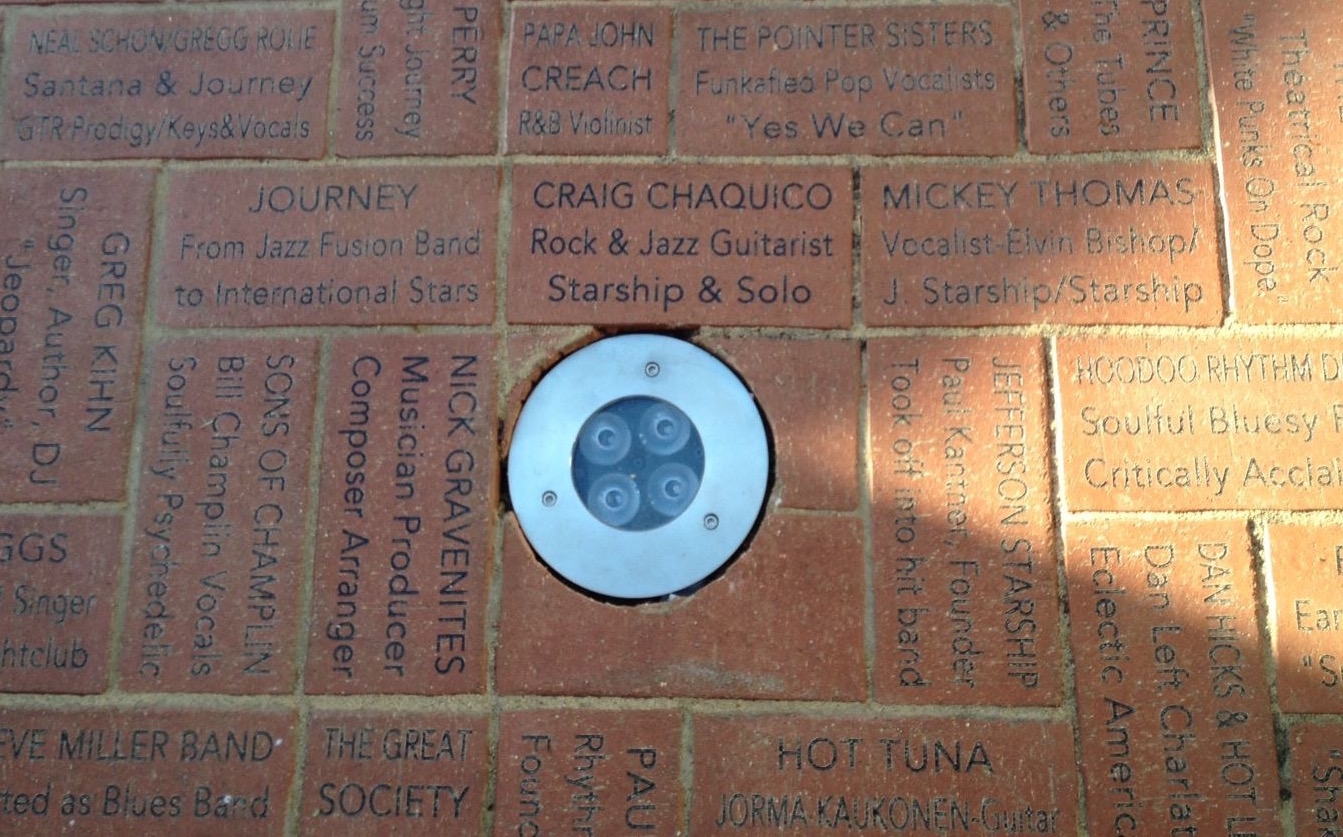 SAN FRANCISCO MUSIC WALK OF FAME CRAIG CHAQUICOsm