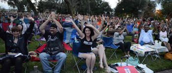 Casselberry Latin Jazz Fest Crowd Craig Chaquico Headlining Sept 2015