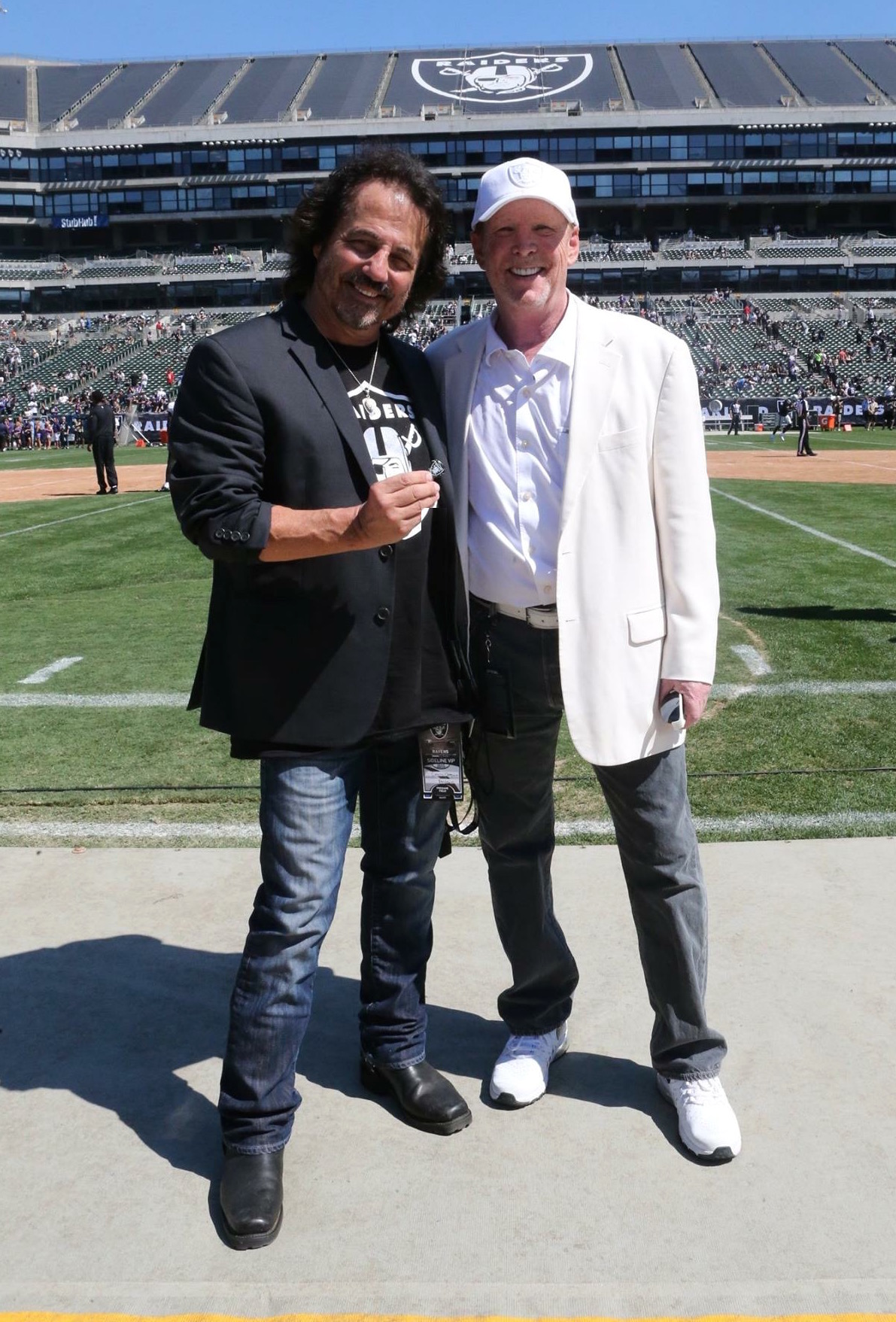 Craig Chaquico and Mark Davis Raiders