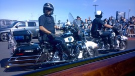 Raider Nation Police Escort