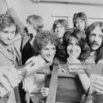 Original Jefferson Starship Marty spills German beer