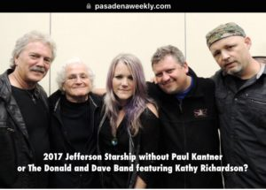 Pasadena Jefferson Starship 2017