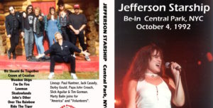 Paul Kantner solo project and another jefferson lineup