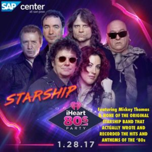 STARSHIP '80s iHeart Party 1.28.17